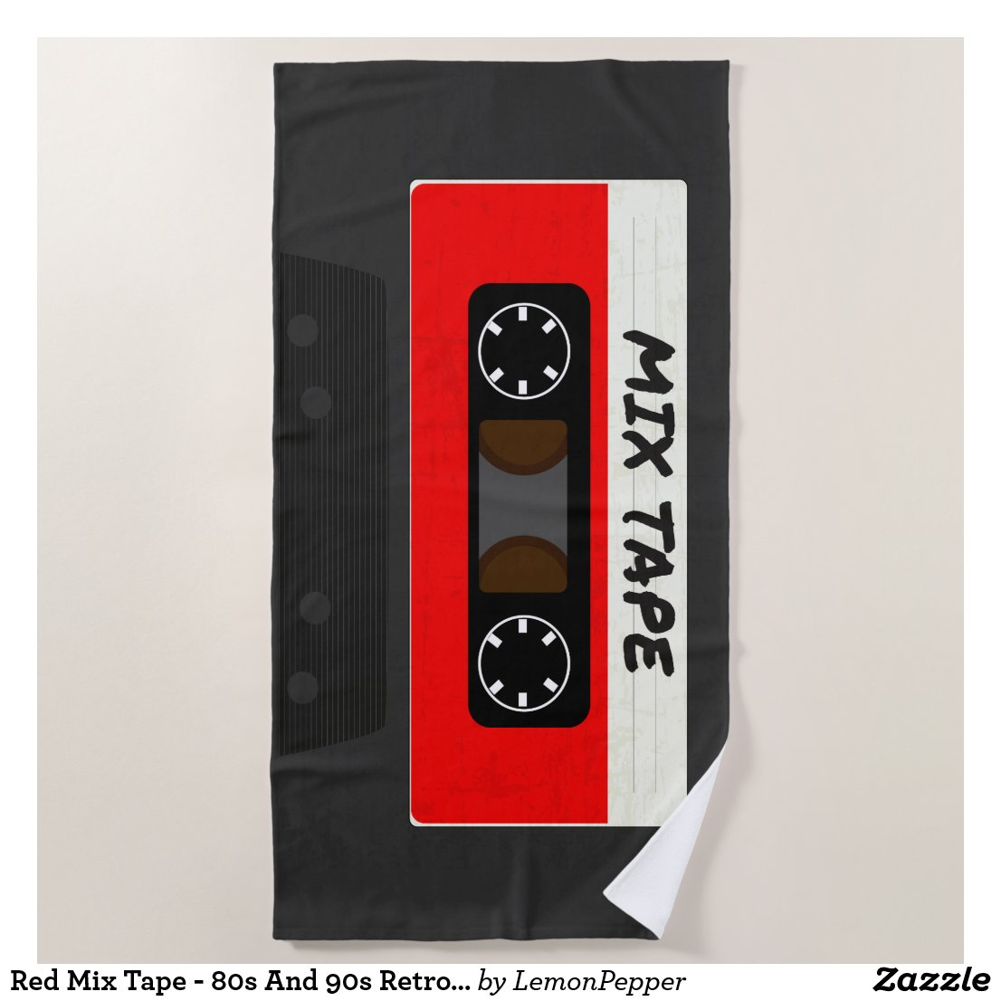 The Mix Tape Beach Towel