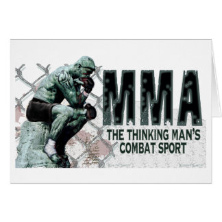 The MMA Thinker Greeting Card