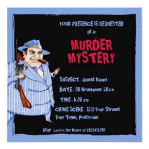Murder Mystery Gifts Gift Ideas Zazzle Uk