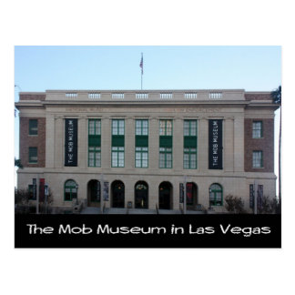 The Mob Museum in Las Vegas Postcard