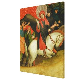 The Mocking of St. Thomas Canvas Print