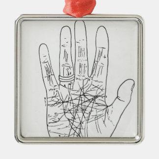 The Model Hand Christmas Ornament