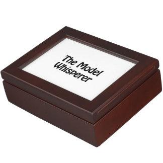 the model whisperer keepsake box