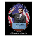 The Modern Day Abraham Lincoln Poster