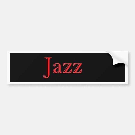 The Modern Jazz Trio Bumper Sticker