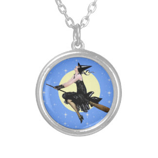 The Modern Witch Round Pendant Necklace