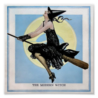 The Modern Witch Poster