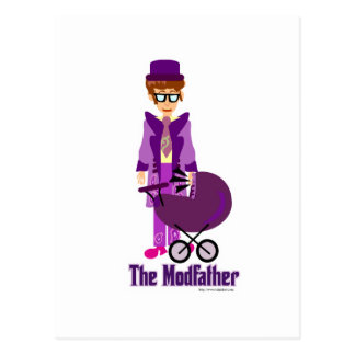 The Modfather! Postcard