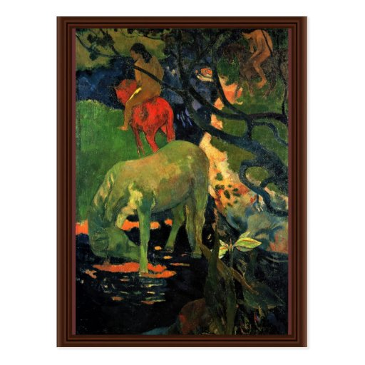 The Mold By Gauguin Paul (Best Quality) Post Cards