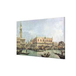 The Molo and the Piazzetta San Marco, Venice (oil Canvas Print