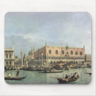 The Molo and the Piazzetta San Marco, Venice (oil Mouse Mat