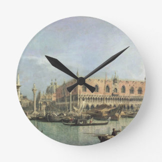The Molo and the Piazzetta San Marco, Venice (oil Wallclock