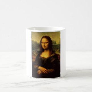 The Mona Lisa by Leonardo Da Vinci c. 1503-1505 Basic White Mug