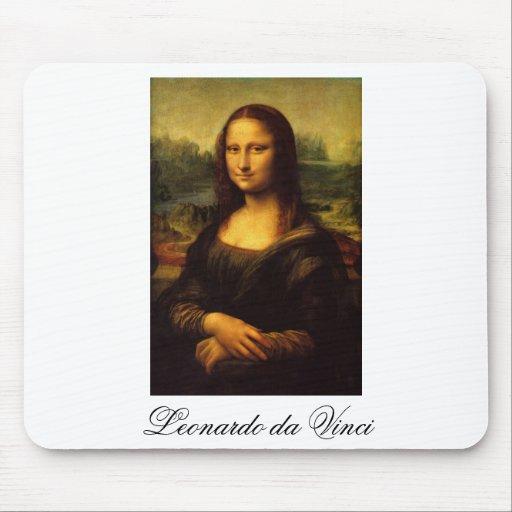 The Mona Lisa by Leonardo Da Vinci c. 1503-1505 Mousepad