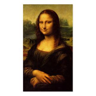 The Mona Lisa by Leonardo Da Vinci c. 1503-1505 Pack Of Standard Business Cards