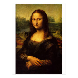 The Mona Lisa by Leonardo Da Vinci c. 1503-1505 Postcard