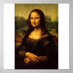 The Mona Lisa by Leonardo Da Vinci c. 1503-1505 Poster