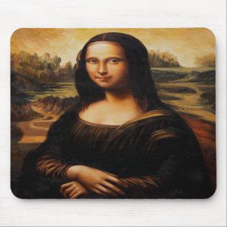 The Mona Lisa by Leonardo Da Vinci Mousepad