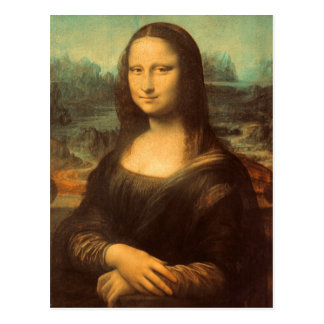 The Mona Lisa by Leonardo da Vinci Post Cards