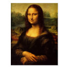 The Mona Lisa by Leonardo Da Vinci Postcard