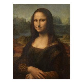 The Mona Lisa by Leonardo da Vinci Postcards