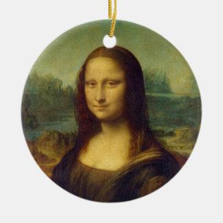 The Mona Lisa La Joconde by Leonardo Da Vinci Christmas Ornament