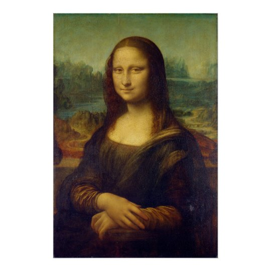 The Mona Lisa La Joconde by Leonardo Da Vinci Poster