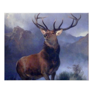 The Monarch of Glen Poster
