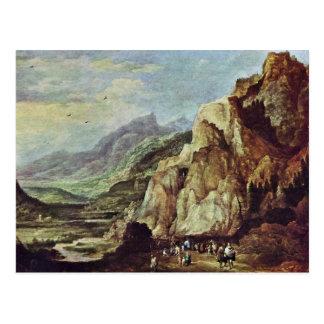 The Monastery Of San Francesco In Sabine Mts Near Postcards