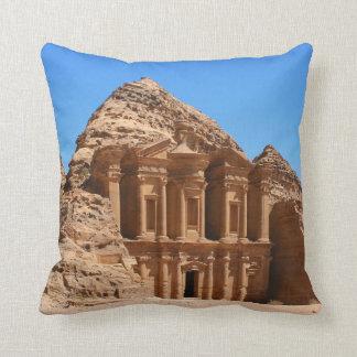 The Monastery Petra Jordan Cushion