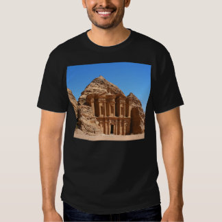 The Monastery Petra Jordan Tshirts