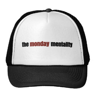 the monday mentality cap