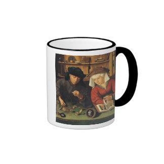 The Money Lender and his Wife, 1514 Ringer Mug