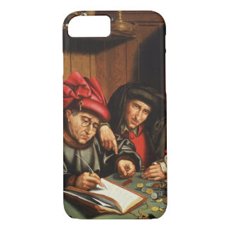 The Money Lenders (oil on oak panel) iPhone 8/7 Case