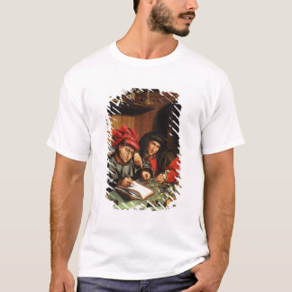 The Money Lenders (oil on oak panel) T-Shirt