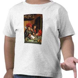 The Money Lenders (oil on oak panel) Shirts