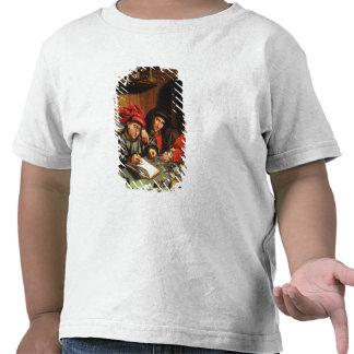 The Money Lenders (oil on oak panel) T-shirts