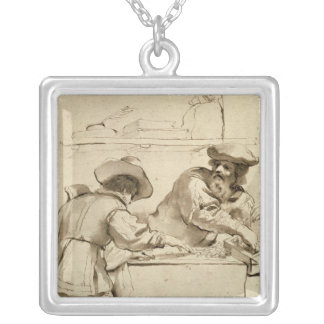 The Moneylender Silver Plated Necklace