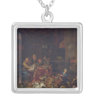 The Moneylenders Silver Plated Necklace
