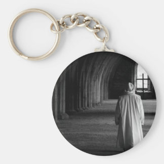 The Monk #2 Basic Round Button Key Ring
