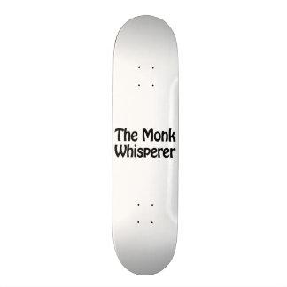 the monk whisperer 18.1 cm old school skateboard deck