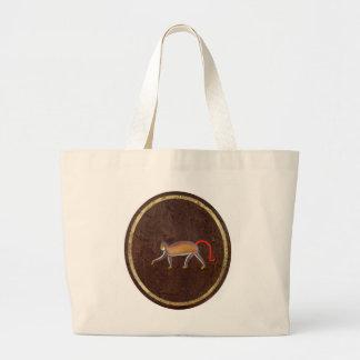 The Monkey 2009 Jumbo Tote Bag