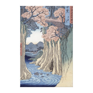 The monkey bridge in the Kai province Gallery Wrap Canvas