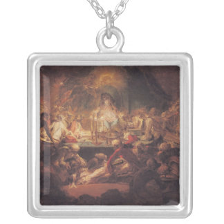 The Monkey Freemasons Silver Plated Necklace