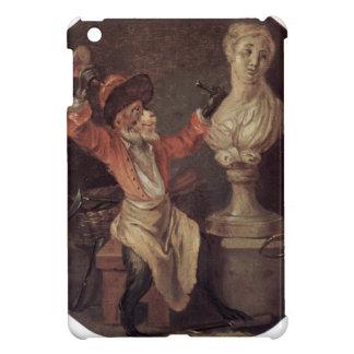 The Monkey Sculptor by Antoine Watteau iPad Mini Cover
