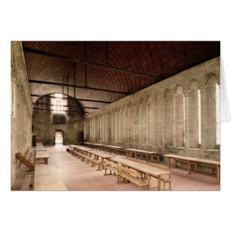 The Monks's Refectory Greeting Card