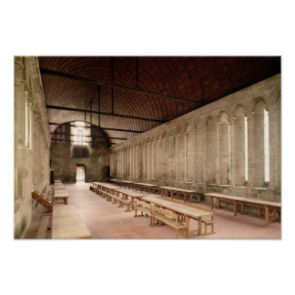 The Monks's Refectory Print