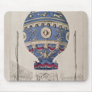The Montgolfier Brothers' Balloon Experiment Mouse Mat