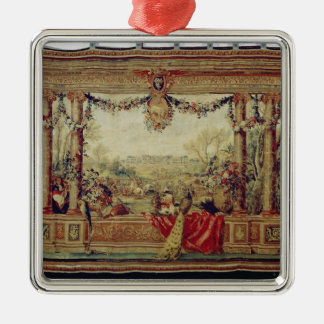 The Month of April/ Chateau of Versailles Christmas Ornament