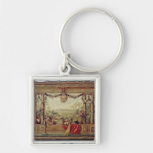 The Month of April/ Chateau of Versailles Key Chain